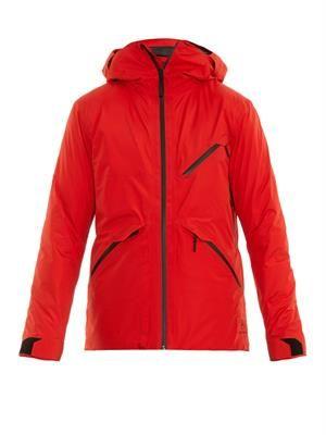 Crest insulated ski jacket