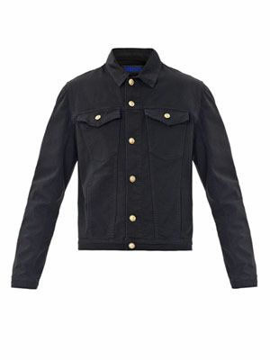 Two-pocket denim jacket