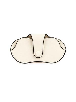 Grained-leather glasses case