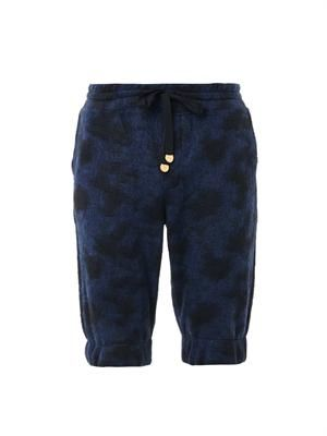Roscoff Court leopard-print shorts