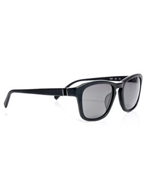 Matte oval sunglasses