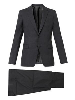 Single-breasted virgin-wool suit