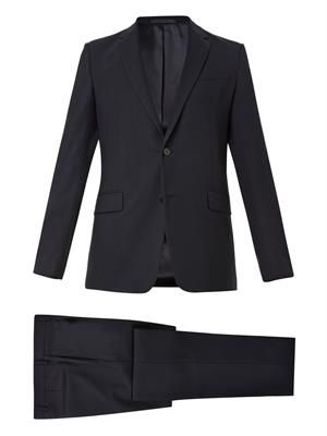 Single-breasted virgin-wool suit