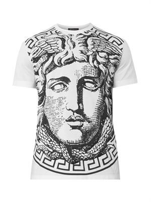 Medusa-print cotton T-shirt