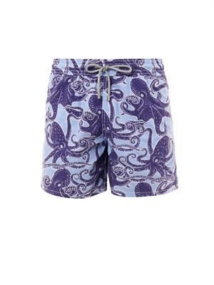 Moorea octopus-print swim shorts