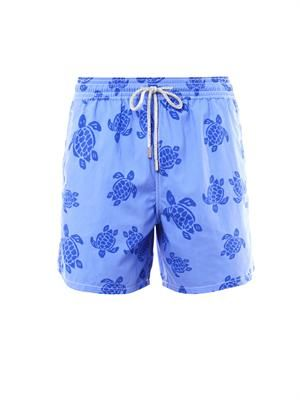 Moorea turtle-print swim shorts