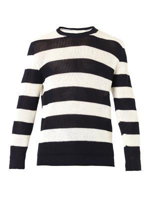 Brian Jones striped wool sweater