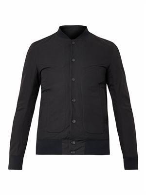 Moto varsity jacket