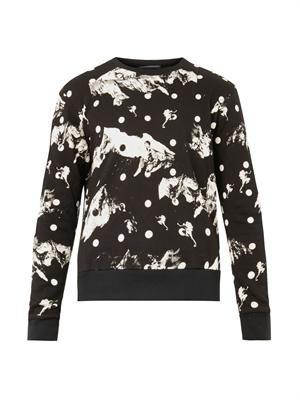 Glory cotton-jersey sweatshirt