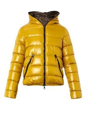 Reversible Dionisio-Erre down jacket