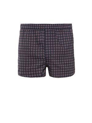 Nelson foulard-print boxer shorts