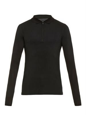LX Polo long-sleeved top