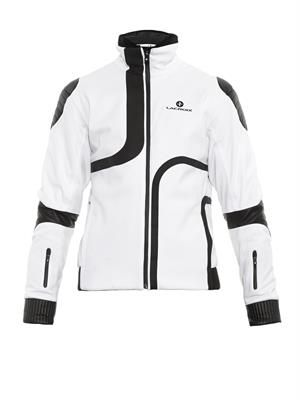 Bellevarde leather-trimmed ski jacket
