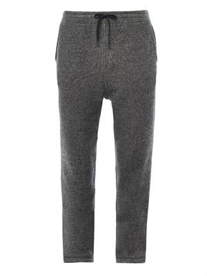 French terry-cotton sweatpants