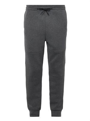 Jersey-bonded neoprene trackpants