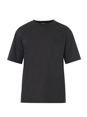 Cotton-poplin T-shirt