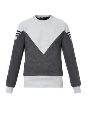 Hero cotton-jersey sweatshirt
