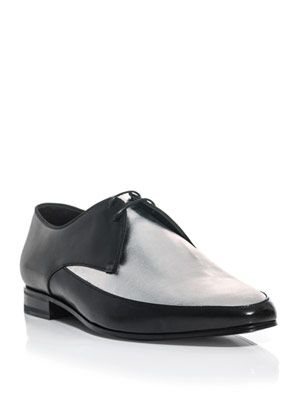 Derby plateau lace-up shoes