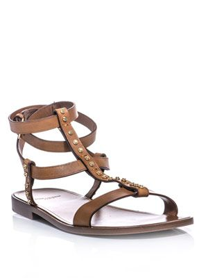 Woodstock studded gladiator sandals