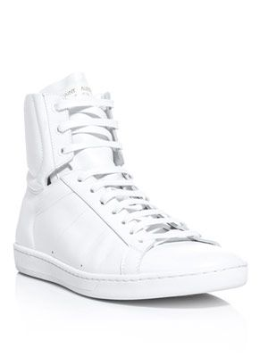 SL/01H Saint Laurent high-top trainers