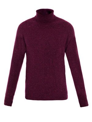 Sherwood roll-neck sweater