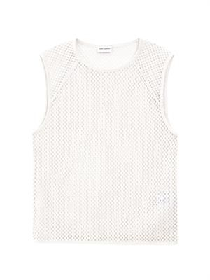 String cotton vest