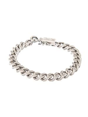 Chunky-chain sterling-silver bracelet