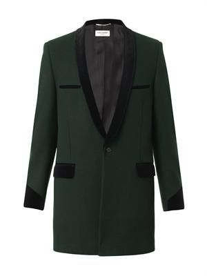 Teddy Boy wool coat