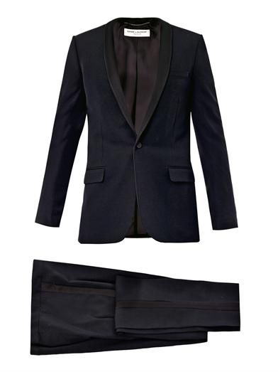 WISHLIST | Saint Laurent Satin lapel tuxedo