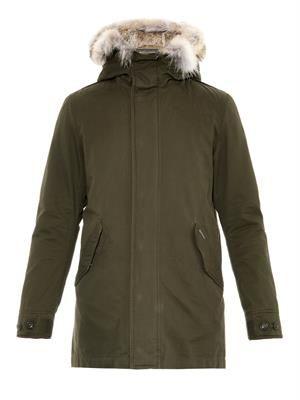 Eskimo fur-trimmed parka