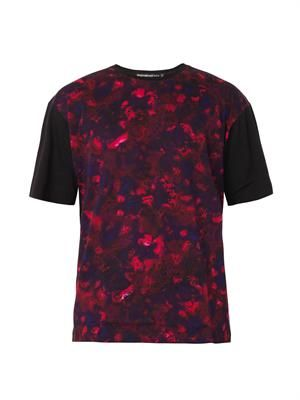 Batik-print cotton T-shirt
