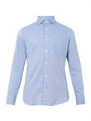 Granada cotton-flannel shirt