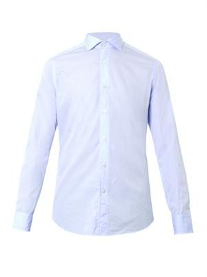 Granada checked cotton shirt