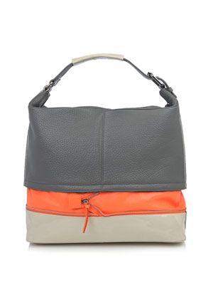 Mandy leather combo bag