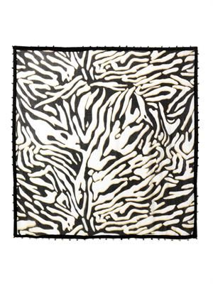 Zebra Shadow print new busby day scarf