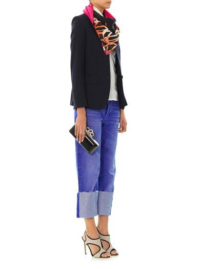 Diane Von Furstenberg 'Diane' Warhol-print silk scarf