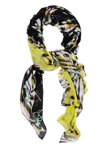 Diane Von Furstenberg Washed chiffon scarf