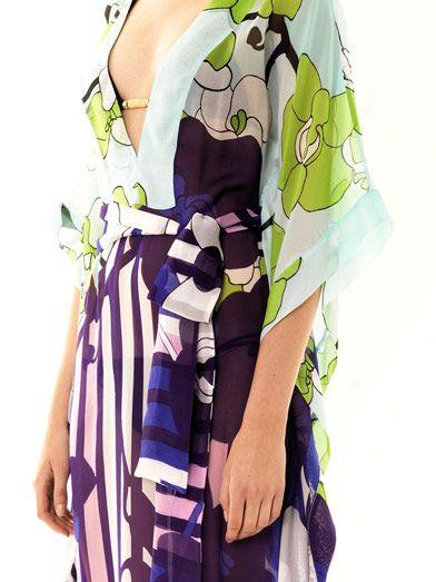 Diane Von Furstenberg Anushka kaftan