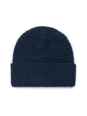 Daphnee ribbed-knit beanie