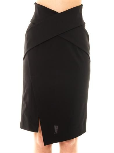 Josh Goot Cut-away bandage wrap skirt