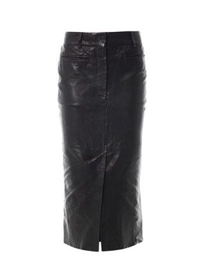 Kills leather pencil skirt