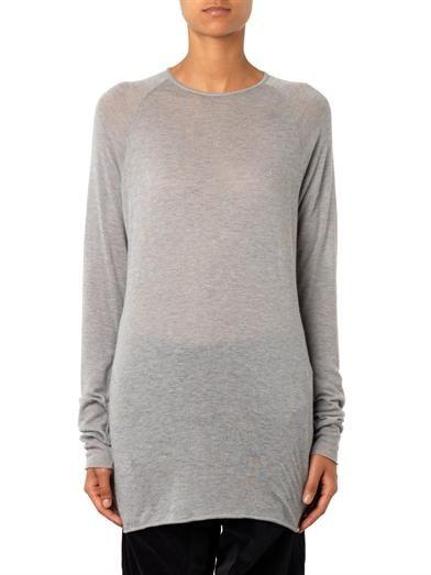 Haider Ackermann Fine-knit wool sweater