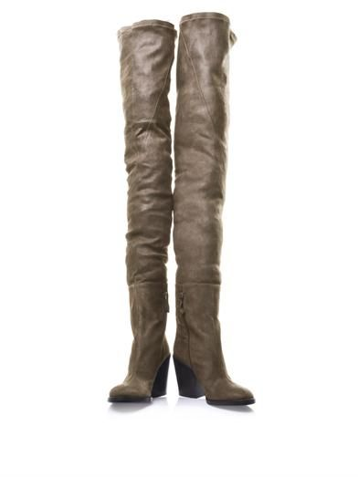 Haider Ackermann Arizona thigh-high leather boots
