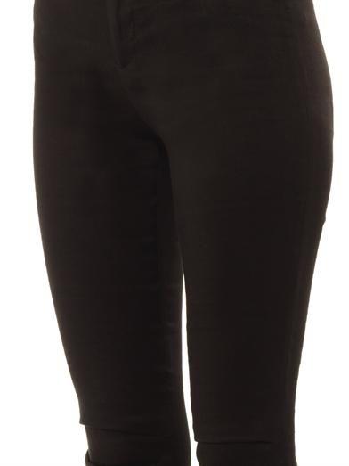 Haider Ackermann Eris linen-blend skinny trousers