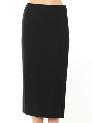 Haider Ackermann Wool pencil skirt