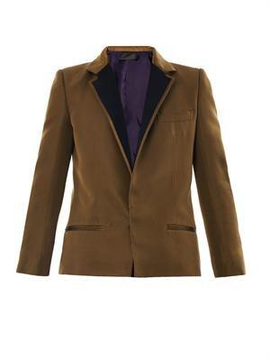 Essex grosgrain silk jacket