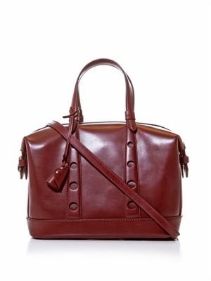 Horloge leather bag