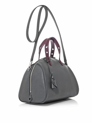 Myriam Schaefer Joyce leather bowling bag