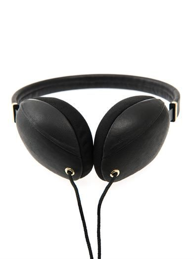 Molami Plica nappa leather on-ear headphones