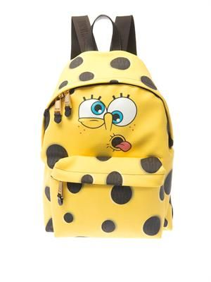 SpongeBob leather backpack